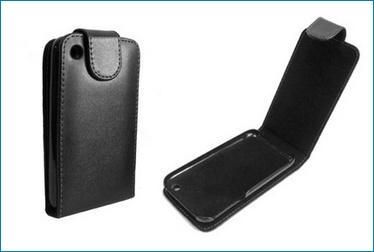 Funda Piel para IPHONE 3G / 3GS - Negra