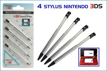 4 x Stylus Touch Pen for Nintendo 3DS