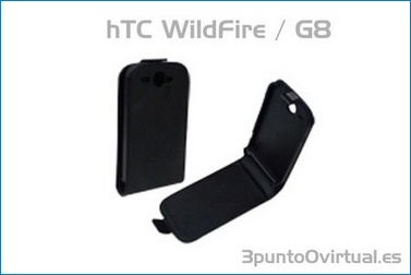 Leather Case for HTC Wildfire G8
