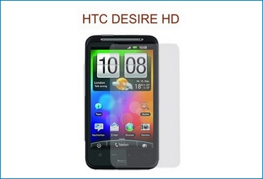 LCD Screen Protector for HTC Desire HD