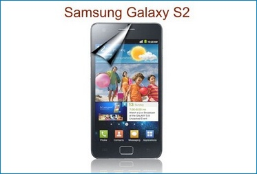 LCD Screen Protector for Samsung Galaxy S2