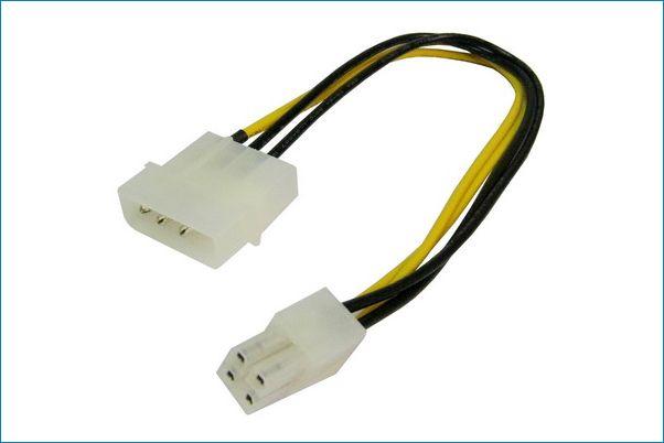 Cable Adaptador Alimentacion Molex 4pin Atx 12v 4p