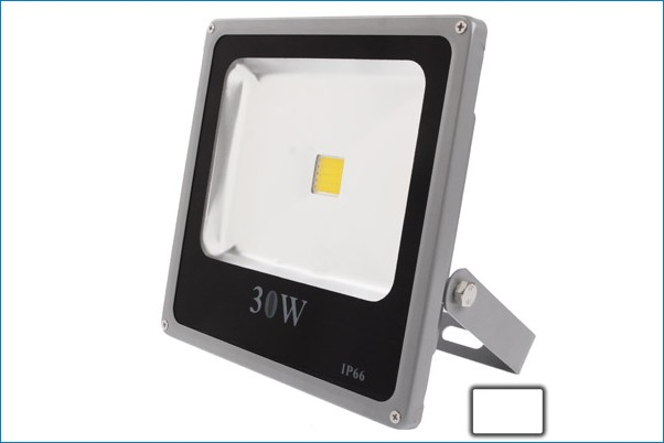 Foco proyector exterior led 30w luz blanca - Foco proyector led ...
