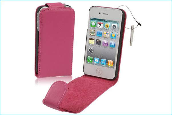 Funda piel para iphone 4 4s rosa - Fundas iphone 4 4s ...