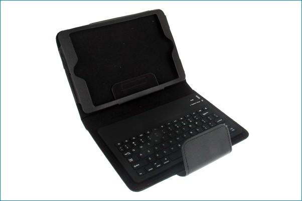 Funda soporte con teclado bluetooth para ipad mini - Funda teclado bluetooth ...