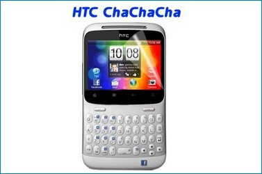 LCD Screen protector for  HTC ChaChaCha