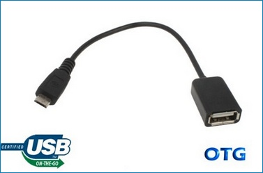 Cable Micro USB OTG