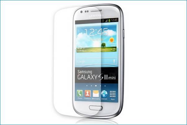 9f3cdd03a44 Protector de Pantalla para Samsung Galaxy S3 Mini,
