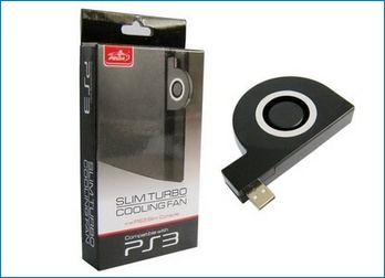 USB Turbo Cooling Fan for PS3
