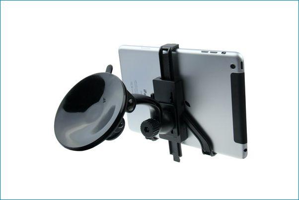 Soporte universal de coche para ipad tablets for Soporte tablet pared