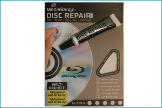 Reparador de Discos CD/DVD/BluRay
