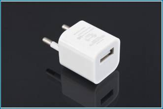 Adaptador Cargador Pared USB - 5V - Blanco