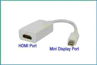 Adaptador Mini DisplayPort a Hdmi Hembra