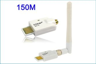 ADAPTADOR INALÁMBRICO WIFI USB - 11N-150M
