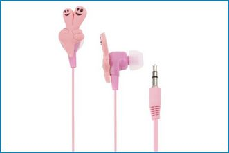 Auricular MP3 / iPod - 3.5 mm FINGERS - Rosa