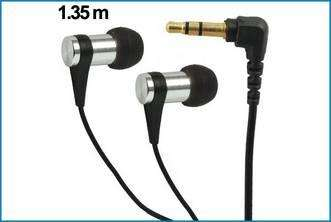 Auriculares NS - MP3 / iPOD . Negro