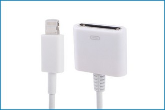 Adaptador Cable 30 pin a 8 pin iPhone 5 / iPad Mini