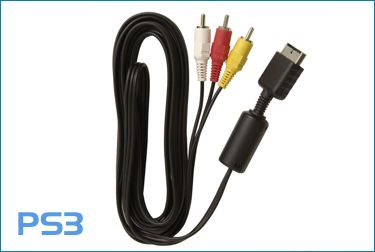Cable AV para PlayStation 3