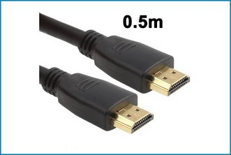 Cable HDMI macho - macho . 0.5 metros
