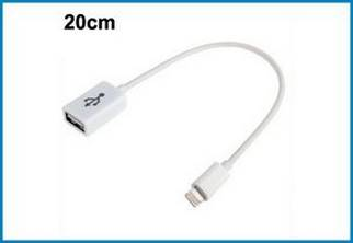 Cable USB Lightning - USB Hembra