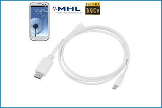 Cable MHL MicroUSB a HDMI . Galaxy S3