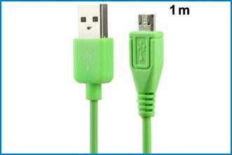 CABLE MICRO USB - VERDE