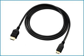 Cable Mini HDMI - HDMI v1.4 . 5 metros
