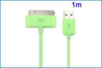 Cable USB para iPhone , iPad , iPod . Verde