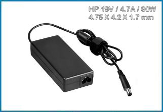 Cargador para Port�tiles HP / COMPAQ 19V / 90W . 4.75mm