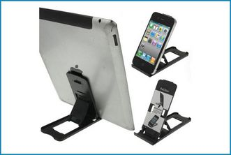 Clip Soporte Multifunci�n iPad / Tablets / M�viles . Transparent