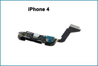 Conector Dock completo iPhone 4 negro