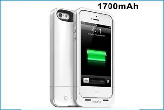 FUNDA BATERÍA POWER BANK PARA IPHONE 5 . BLANCA
