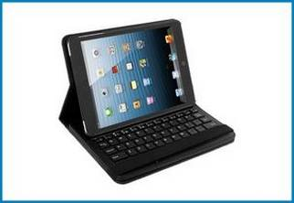 Funda Soporte Giratorio con Teclado Bluetooth para iPad MINI
