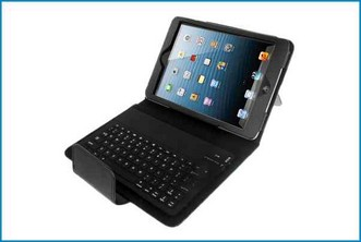 Funda Soporte con Teclado Bluetooth para iPad MINI