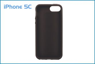 63bec626efc Funda TPU para iPhone 5C . Negra,