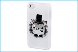 Funda Trasera iPhone 4 / 4S . KW Gato
