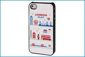 Funda Trasera iPhone 4 / 4S . Londres