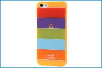 FUNDA TRASERA IPHONE 5 . RAINBOW
