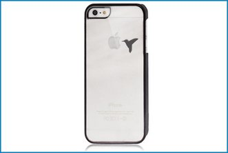 Funda Trasera iPhone 5 Transparente . BlackBird