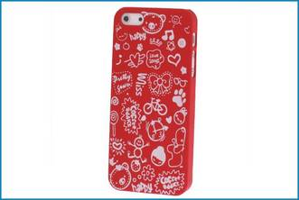 Funda Trasera iPhone 5. Graffiti Roja