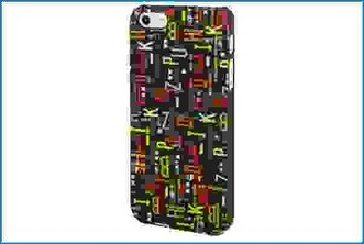 FUNDA TRASERA IPHONE 5 GRAFFITI LETRAS