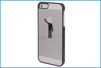 Funda Trasera Transparente iPhone 5 . Silueta