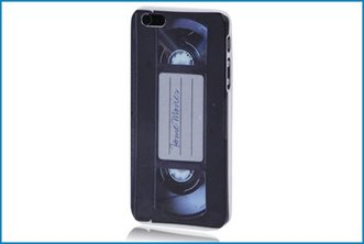 Funda Trasera iPhone 5 . VHS