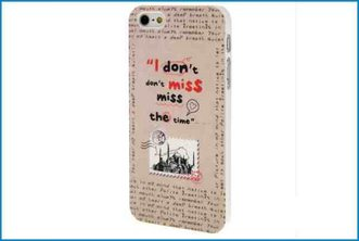 Funda Trasera iPhone 5 . Don�t Miss