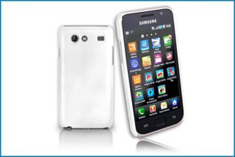 Funda trasera Samsung Galaxy S Advance . Blanca