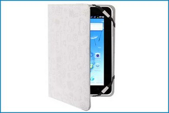 "Funda Soporte Universal Tablet 7"" . Graffiti Blanco"