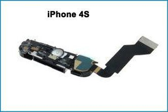 Conector Dock completo iPhone 4S negro