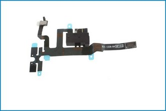 REPUESTO CABLE CONECTOR FLEX AUDIO. IPHONE 4S NEGRO