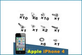 Set 39 Tornillos de Repuesto para iPhone 4 / 4S