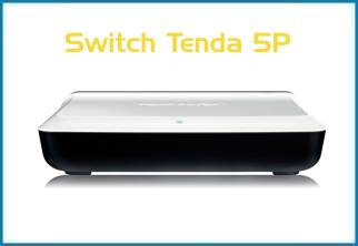 SWITCH TENDA MINI 5 PUERTOS